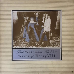 Rick Wakeman ‎- The Six Wives Of Henry VIII (LP) (G+/G++)